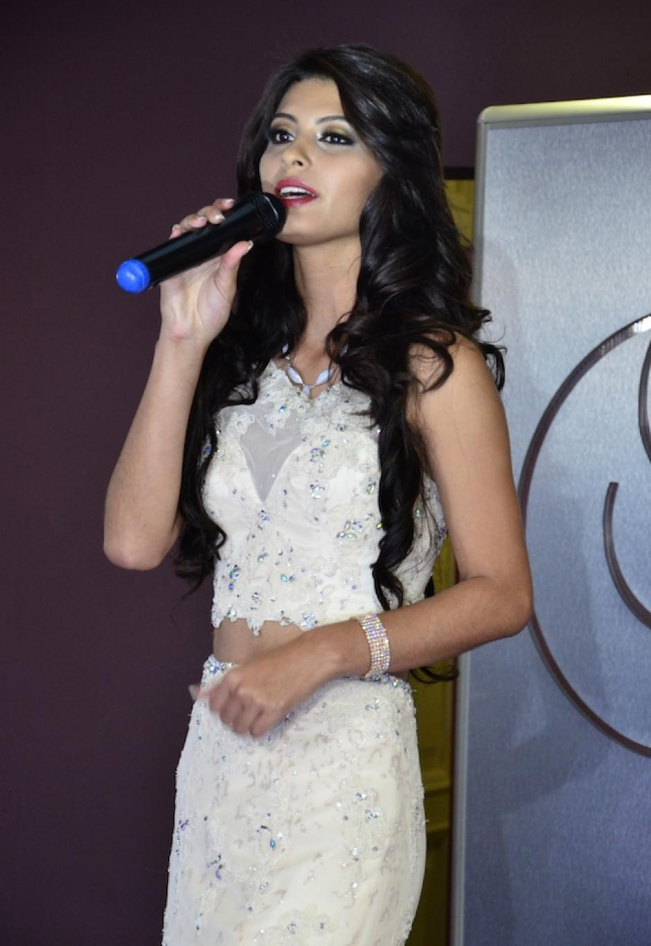 Santa Rosa es Jennifer Sofía Alvarado. (Foto: Selene Mejía/Soy502)