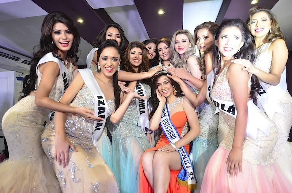 Las candidatas que compiten por el título Miss Guatemala 2016 fueron presentadas. (Foto: Selene Mejía/Soy502)