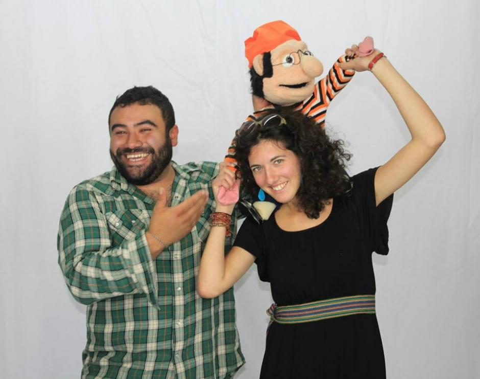 Titiriteros de Xela recorren el mundo con su show. (Foto: Canícula)