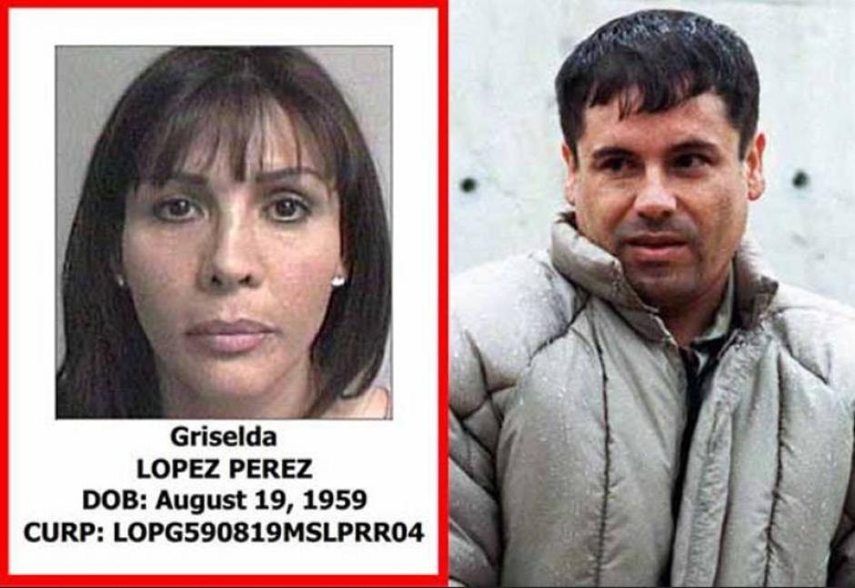 Griselda López Pérez, es otra de las mujeres del Chapo Guzmán.