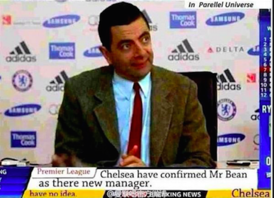 """Hasta Mr. Bean se filtró en los """"memes"""" sobre el despido de Mourinho. (Imagen: sopitas.com)"""