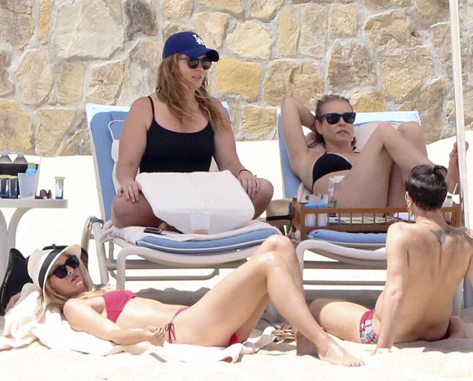 María Sharapova se encuentra de vacaciones. (Foto: Daily Mail)