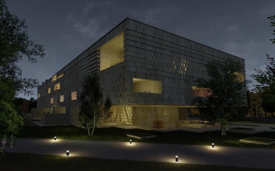 El Museo sería edificado en el terreno que actualmente ocupa el Mercado de Artesanías. (Foto Museo Maya de América)