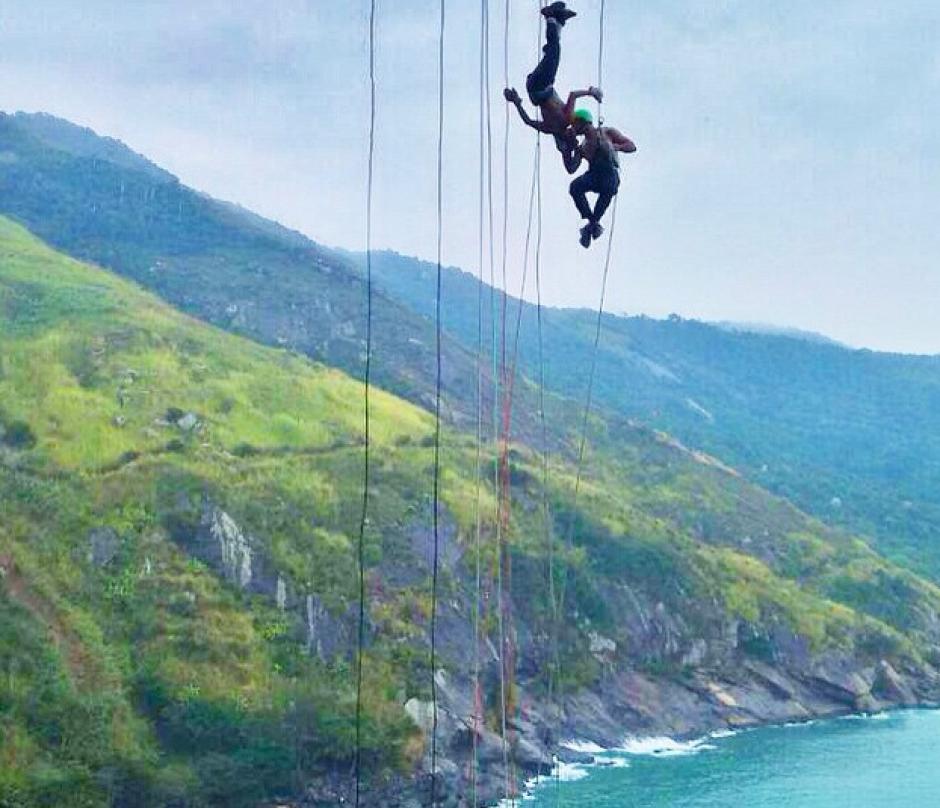 Los dos se confiesan adictos a la aventura. (Foto: Instagram)