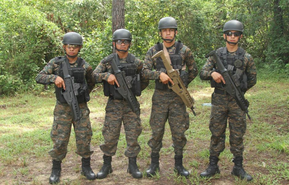 El equipo de asalto de los Kaibiles compitió en seis pruebas. (Foto:SOCSOUTH)