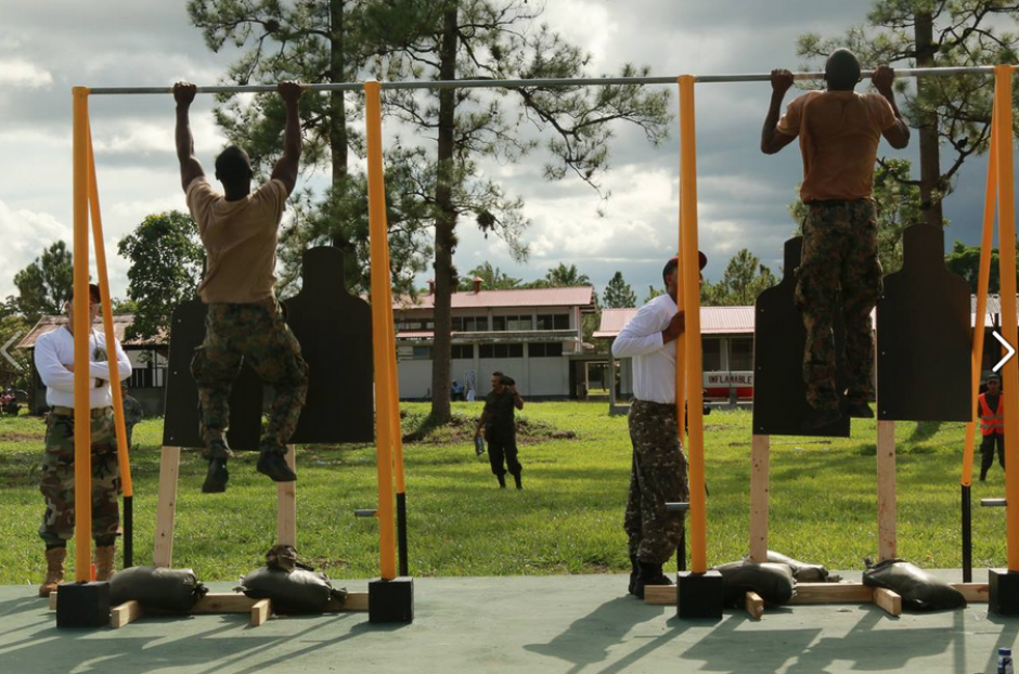 En cualquier momento, los participantes aprovechan para ejercitarse. (Foto:SOCSOUTH)