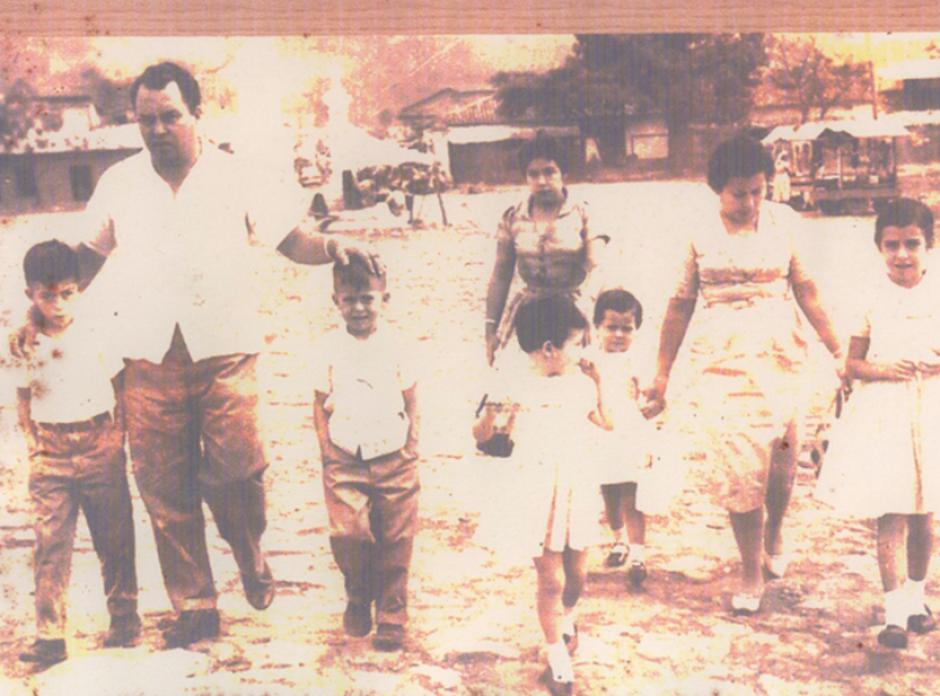 Sandra Torres es la segunda hija de cinco hemanos. (Foto: Facebook)