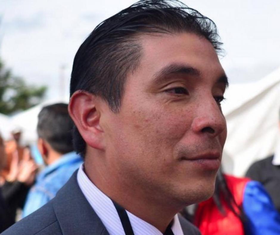 Clemente Bethancourt es agente fiscal en Escuintla, y fue electo como integrante del consejo del MP. (Foto: Jesús Alfonso/Soy502)