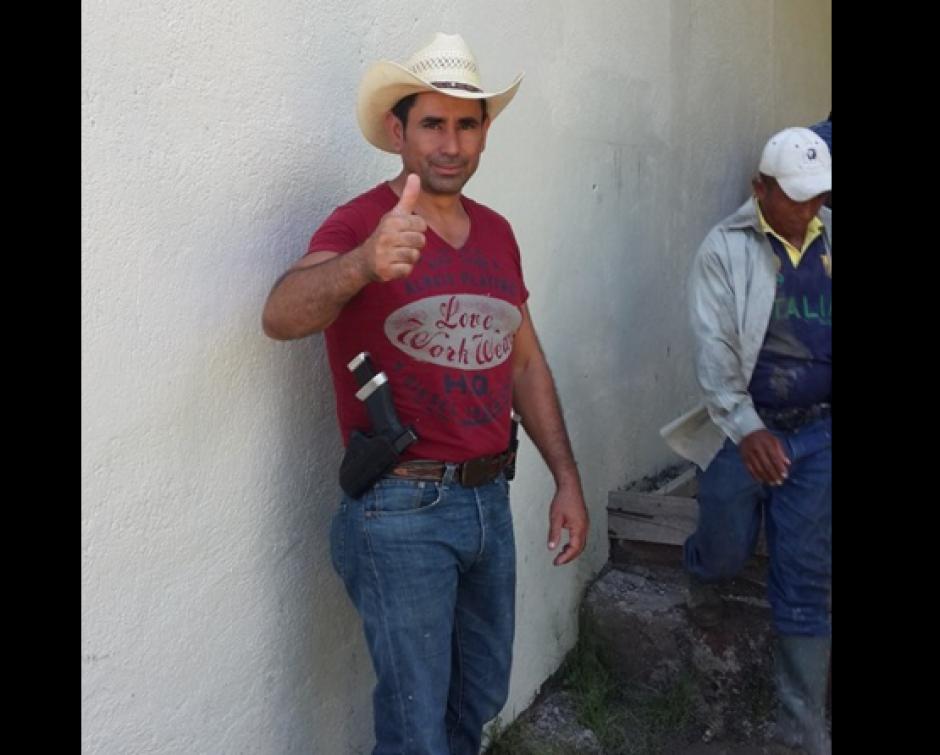 Esduin Javier obtuvo el 78% de los votos en las elecciones. (Foto: Facebook)