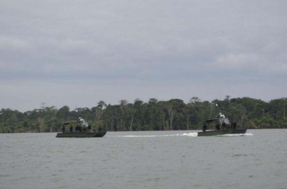 Guatemala sostiene que el río Sarstún es de su dominio y Belice pide que sea de los dos. (Foto: Defensa)