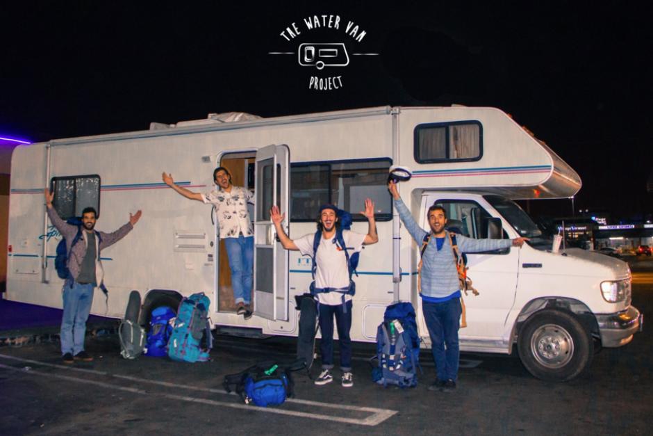 Recorrerán un total de 6 mil kilómetros y la caravana será su casa durante todo el camino. (Foto: The Van Project)