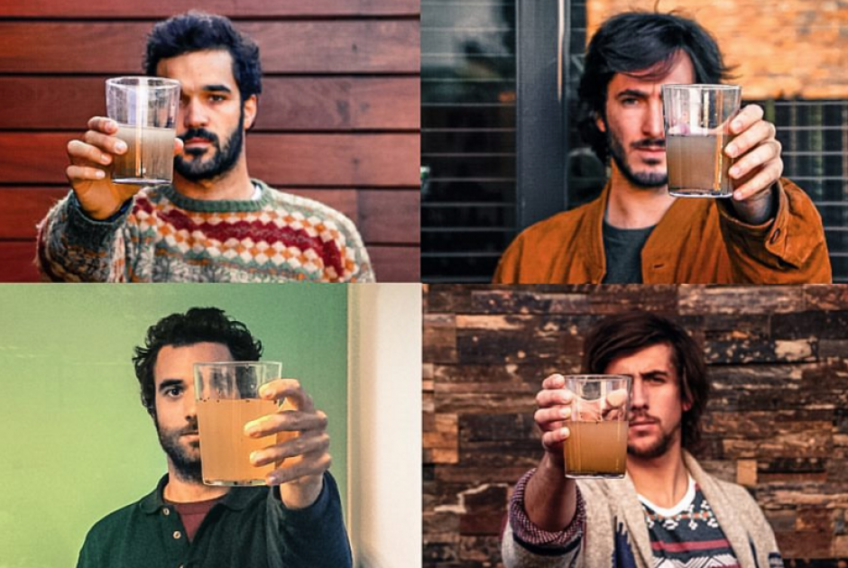 Cuatro amigos españoles decidieron embarcarse en este viaje solidario para mejorar el acceso al agua. (Foto: The Van Project)