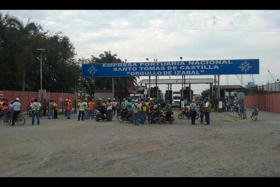 El bloqueo del puerto se inició el pasado 9 de marzo. (Foto Coexport)
