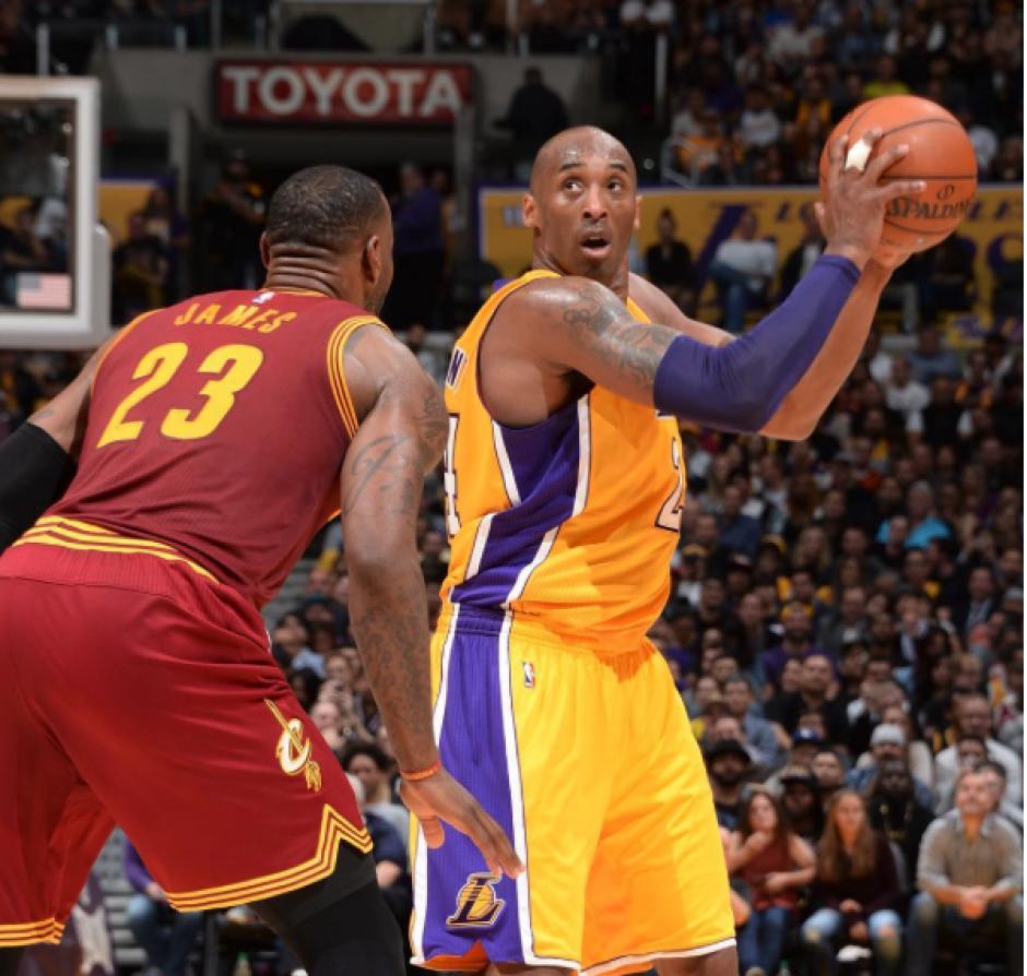 Después de 20 años de carrera Kobe Bryant se despide de la NBA.  (Foto: Instagram NBA)