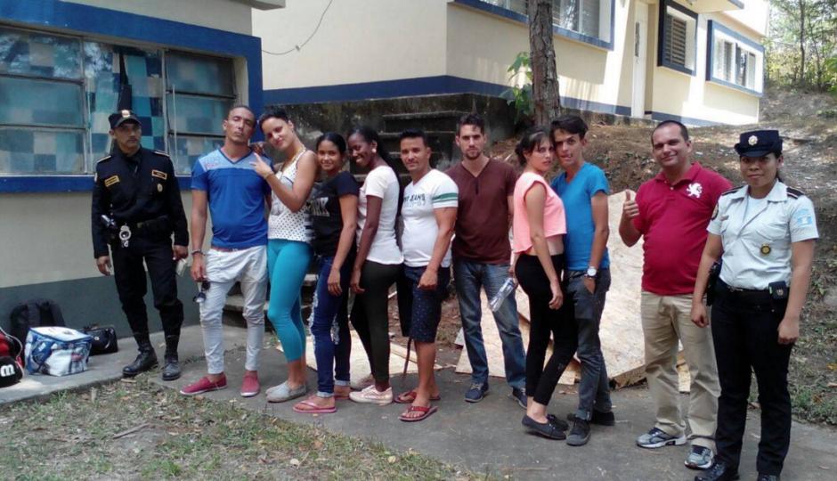 El grupo cruzaba Guatemala para llegar a EE.UU. (Foto: PNC)