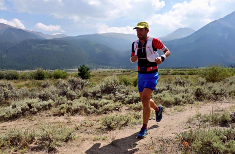 En la prueba Sagastume tuvo que correr durante 84 kilómetros.  (Foto: Facebook)