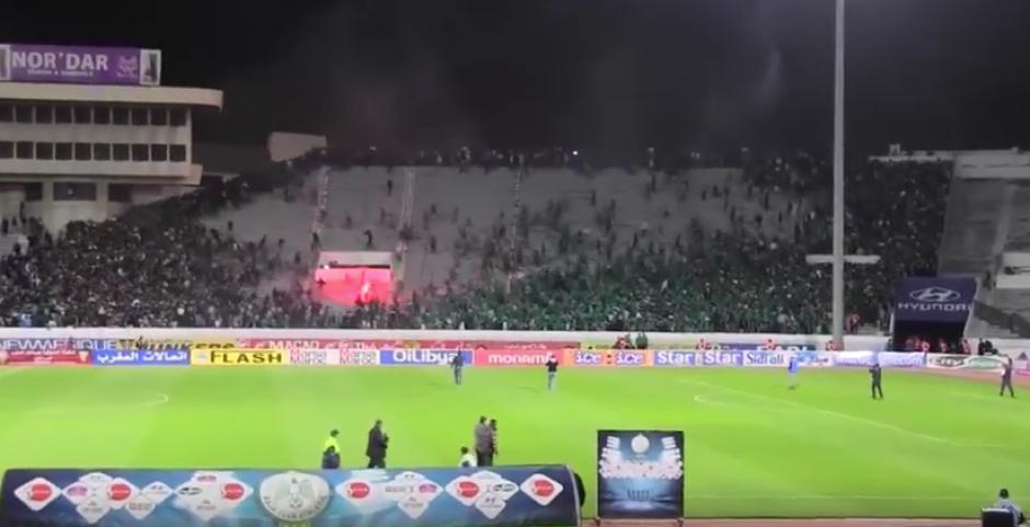 El Raja ganó el encuentro por 2 goles a 1 frente al CR Al Hoceima. (Foto: Youtube)