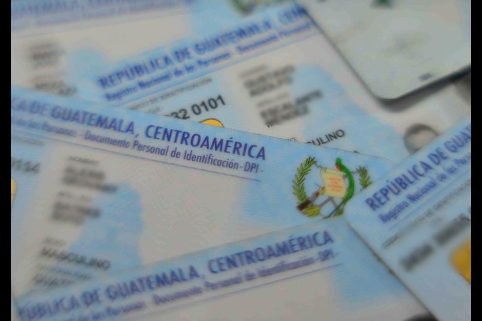 El Renap no ha podido imprimir los DPI por que les suspendieron el servicio de verificación de identidad biométrica. (Foto: Archivo/Soy502)