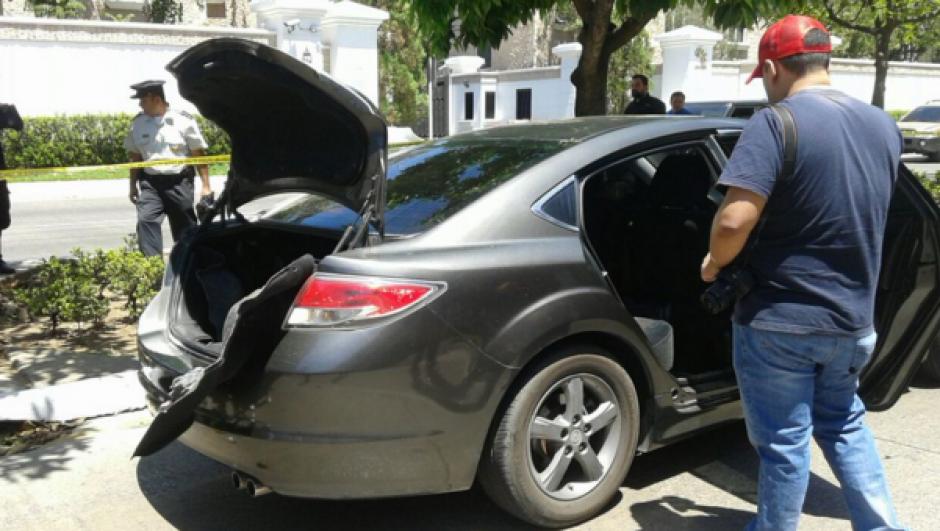 En la operación contó con el apoyo de agentes caninos. (Foto: MP)