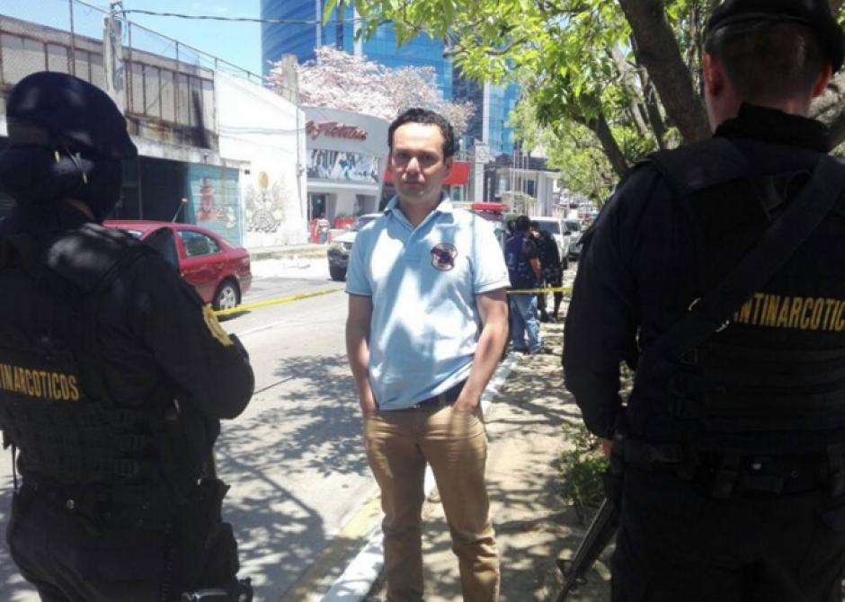 El conductor del vehículo fue detenido durante la incautación. (Foto: MP)