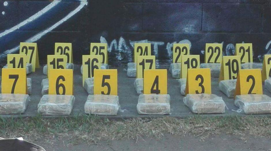 El dinero estaba organizado en 36 paquetes. (Foto: MP)