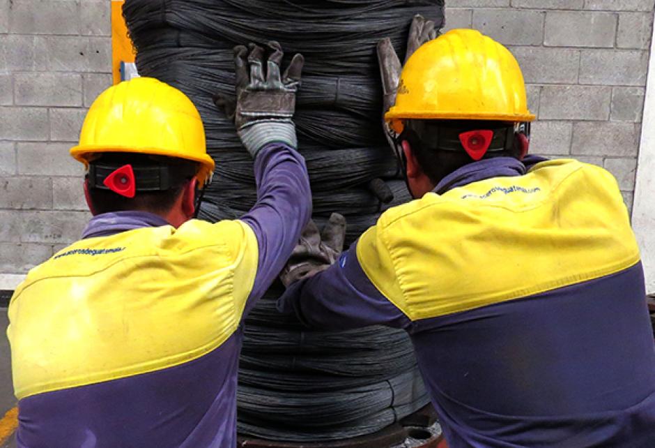 Aceros de Guatemala se dedica a la fabricación de productos de acero para construcción. (Foto: Facebook)