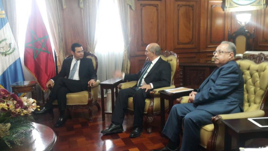Uno de los proyectos es que Guatemala abra su embajada en el país norafricano.  (Foto: AGN)