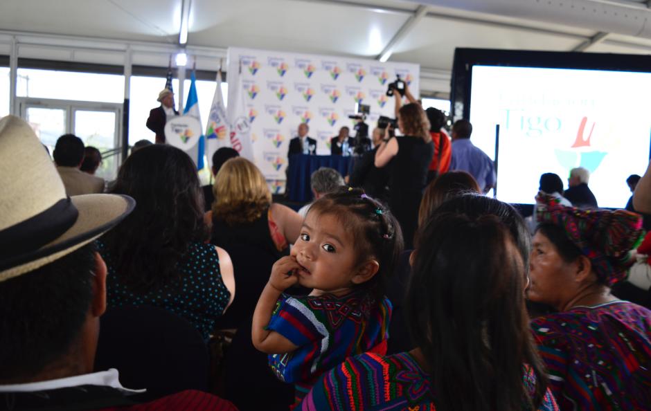 Pobladores de Nebaj viajaron a la capital desde Quiché.  (Foto: Alejandro Ortiz/Soy502)