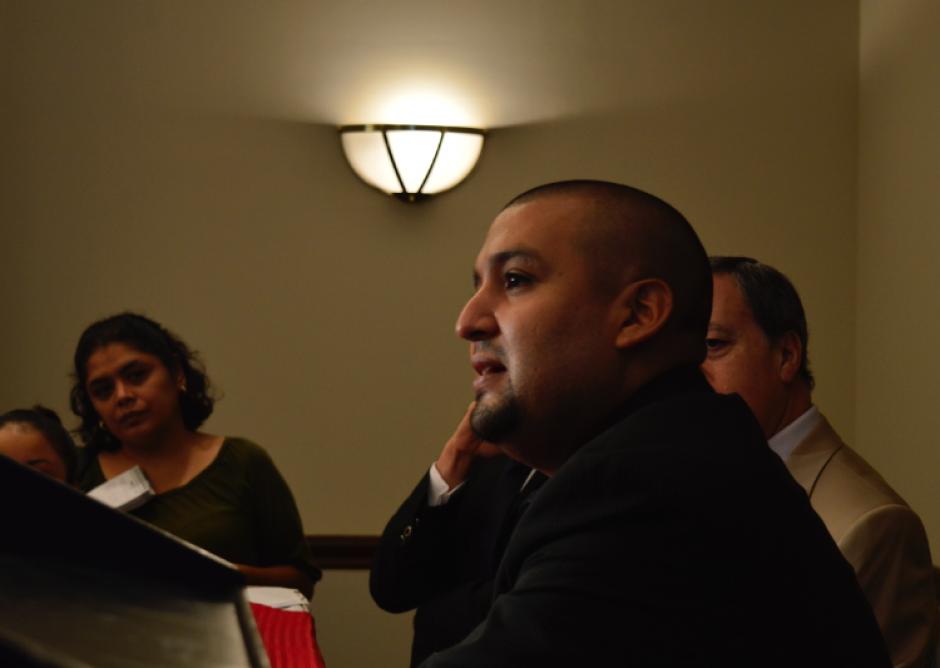 Solórzano informó sobre la reestructuración de la organización interna del ente recaudador. (Foto: Alejandro Ortiz/Soy502)