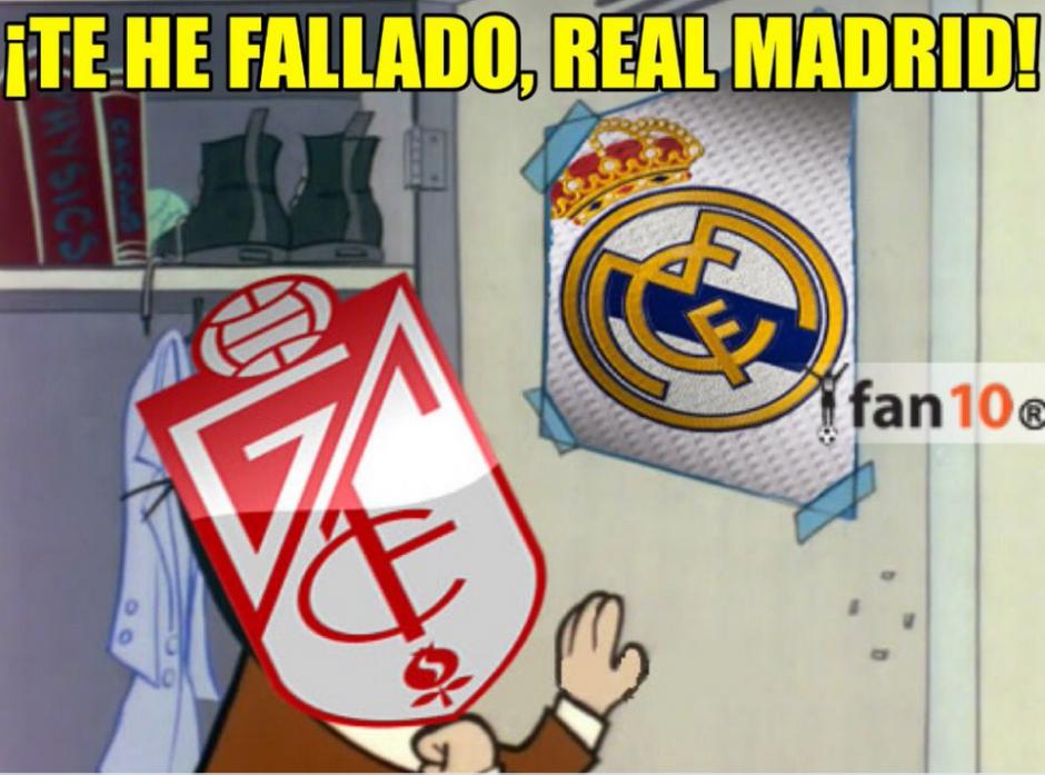 """Los memes no se hicieron esperar y se """"burlaron"""" de Real Madrid, tras el título de Barcelona. (Foto: Twitter)"""