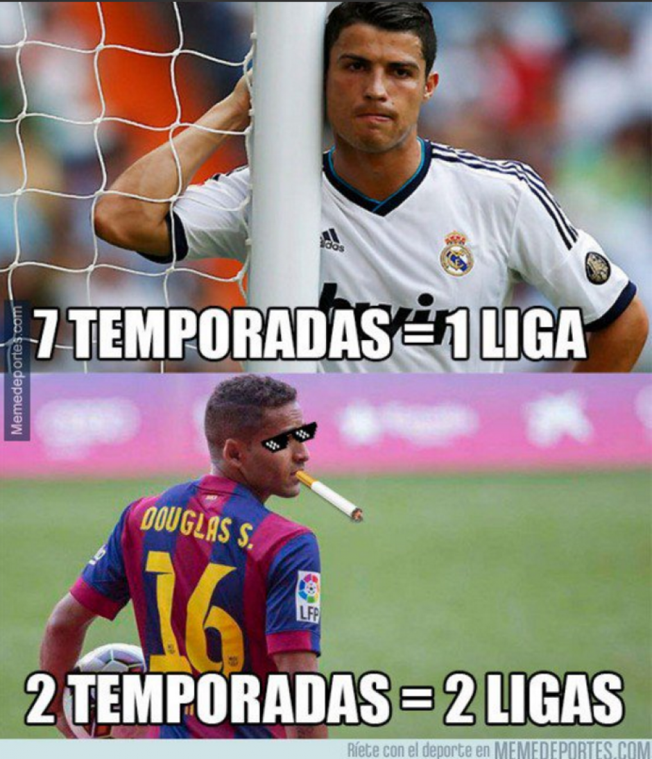 La falta de títulos de Cristiano Ronaldo fue otro de los temas de los memes. (Foto: Twitter)