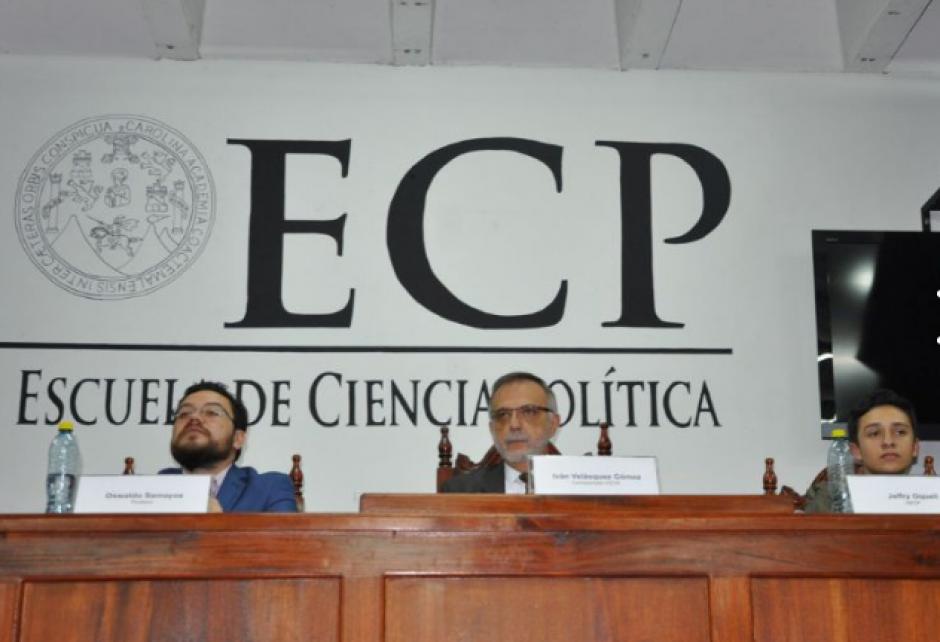 Por primera vez, dos facultades de derecho organizaron un evento similar. (Foto: CICIG)
