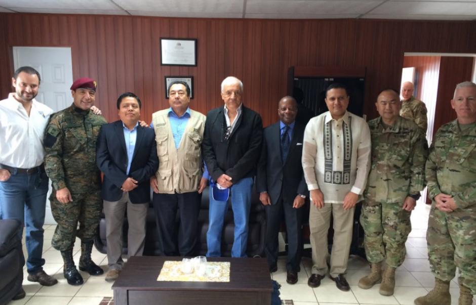 El evento consistió en clausurar la misión humanitaria del ejército de EEUU. (Foto: US Embassy)