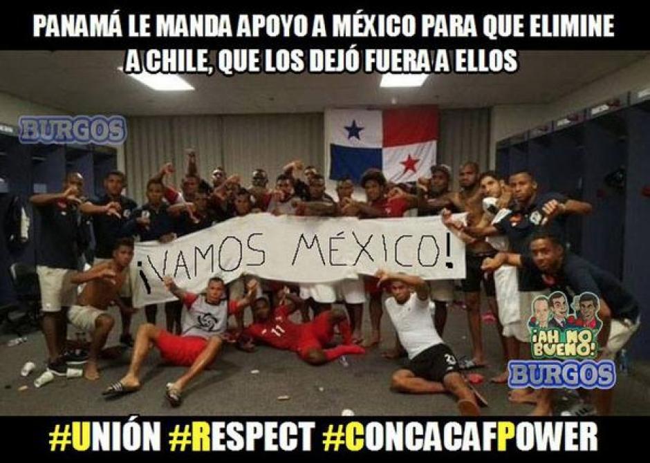"""La ironía contra Panamá, hace unos años mostraron su descontento con México, ahora un """"virtual apoyo"""". (Foto: Twitter)"""