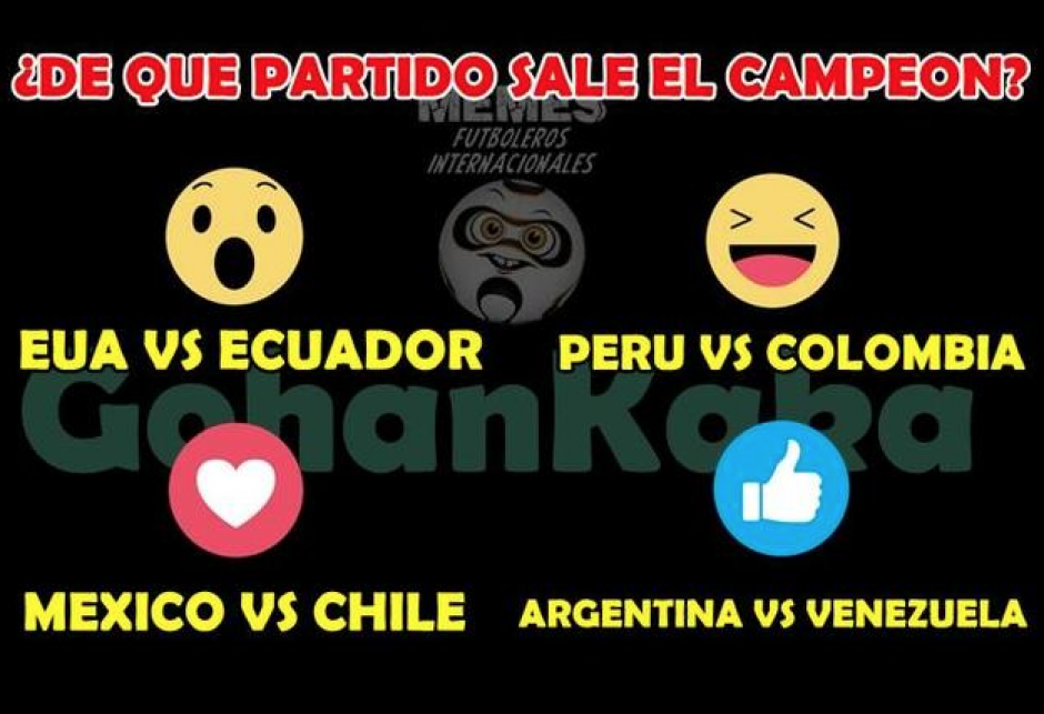 """Otra gráfica para """"entender"""" los cuartos de final de la Copa. (Foto: Twitter)"""