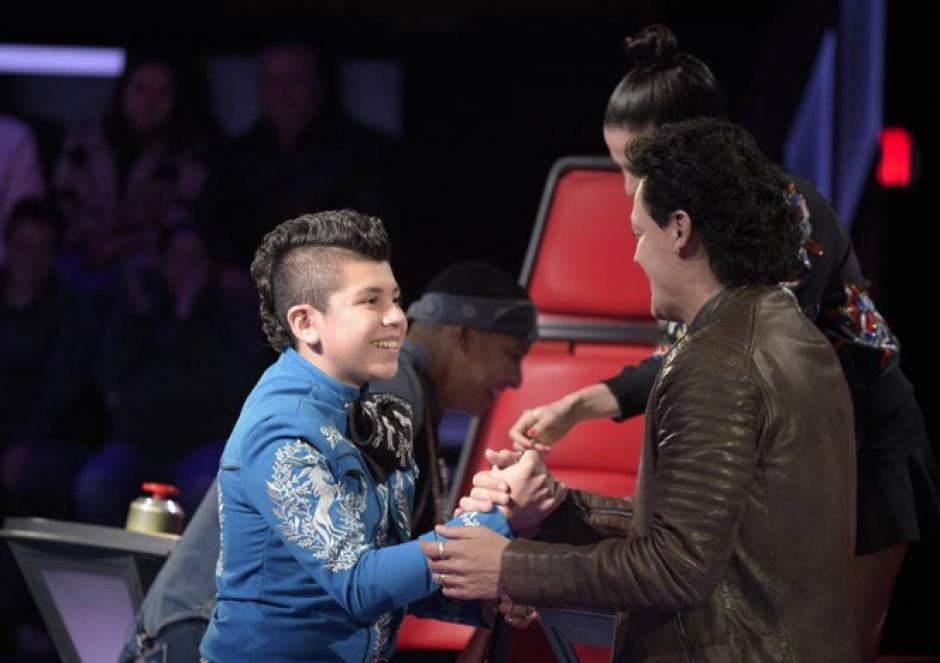El otro guatemalteco en el programa, Joseph Reyes, no pudo regresar a la competición. (Foto: Telemundo)
