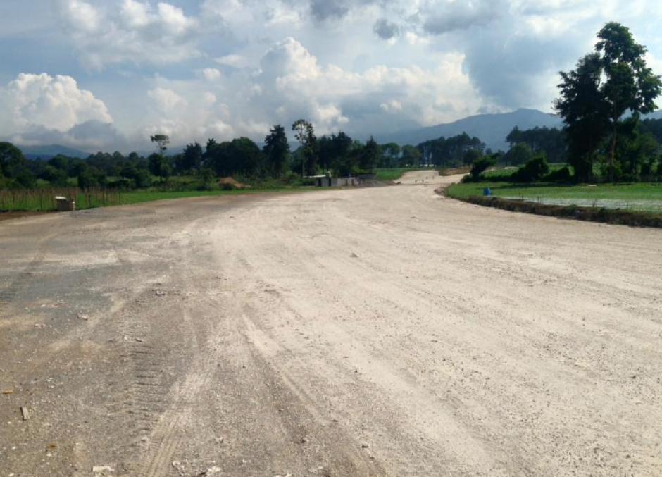 Se espera que el libramiento de Chimaltenango concluya en dos años. (Foto: CiV)