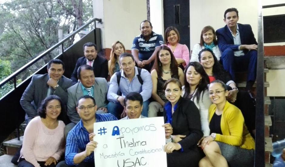 La comunidad guatemalteca se ha solidarizado con la Fiscal. (Foto: MP)