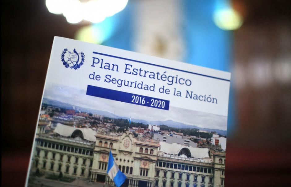 El Plan de Estrategia de Seguridad de la Nación busca el funcionamiento armónico de todas las instituciones. (Foto: Secretaria)