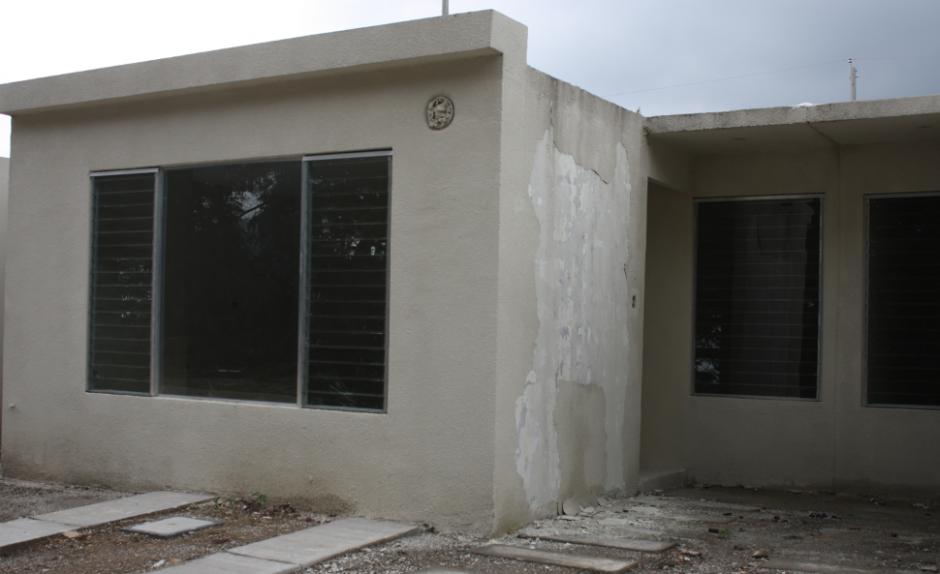 Tan sólo 40 de las 181 casas está construidas. (Foto: PDH)
