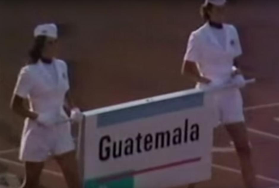 En 1984 la delegación contó con 24 atletas. (Foto: Youtube)