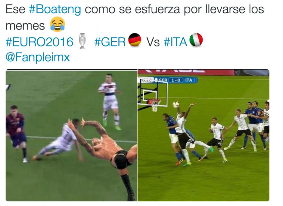 Los aficionados se recordaron de aquella mágica jugada de Messi, en la cual Boateng quedó en el suelo. (Foto: Twitter)