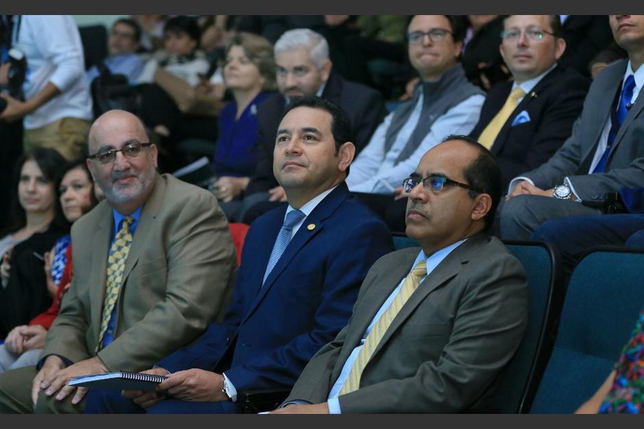 Heimann defendió que se han llevado a cabo acciones en materia de salud, educación seguridad y trabajo. (Foto: Gobierno)