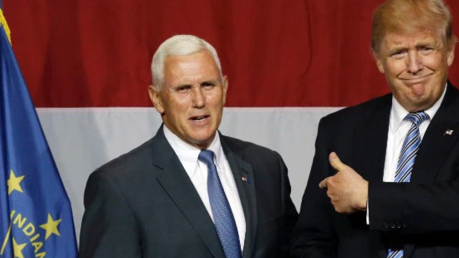 Mike Pence aceptó la propuesta de Trump. (Foto: CNN)