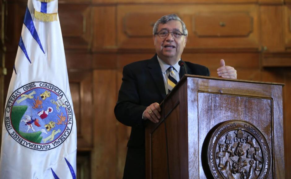 El único que se ha pronunciado ha sido el Vicepresidente que ha participado en una actividad en la USAC. (Foto: Gobierno)