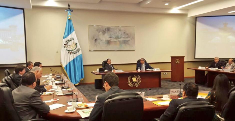 La noticia del ataque a Byron Lima llegó a Casa Presidencial después del Gabinete de todos los lunes. (Foto: Gobierno)