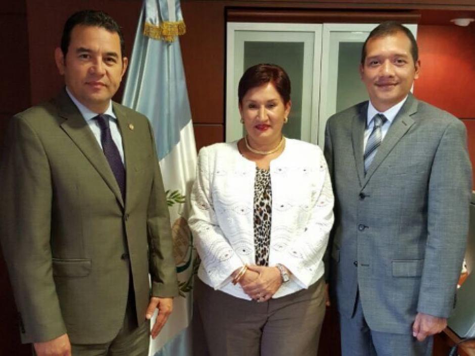 Esta mañana se ha reunido con la Fiscal General y el ministro de Gobernación. (Foto: Gobierno)