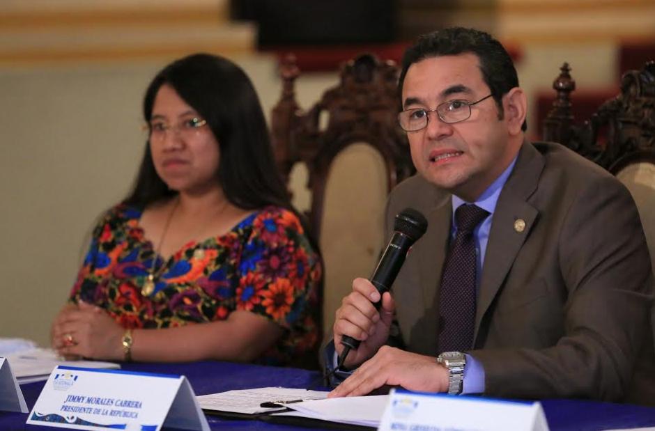 El Presidente retó a Luis Alberto Lima a que demuestre que ha sido un crimen de Estado. (Foto: AGN)