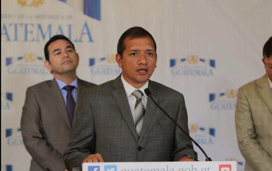El Ministro de Gobernación explicó que se está llevando a cabo la investigación. (Foto: Mingob)