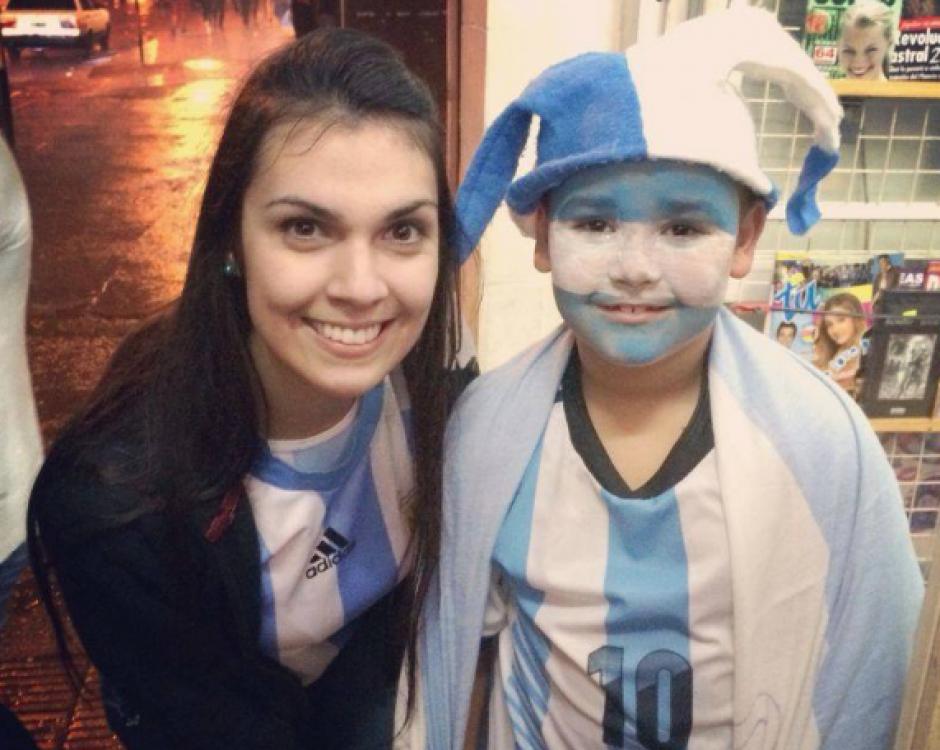 La modelo argentina murió asesinada en el ataque en Pavón. (Foto: Facebook)